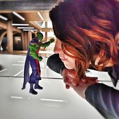 Danvers. I'm going to read your mind. #MartianManhunter #SupergirlCW