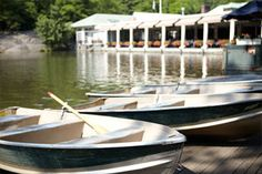 Central Park: Weather permitting--from April through November, a fleet of 100 rowboats and 3 kayaks are available for rent from 10am until dusk.    Boats are $12 per hour (cash only), $2.50 for each additional 15 minutes with a $20 cash deposit.  Each boat holds up to 4 people.