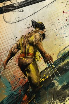 Awesome Wolverine Poster