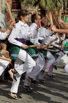 Festa Major del Clot – Camp de l'Arpa  , Vall de Bastons  Barcelona  Catalonia