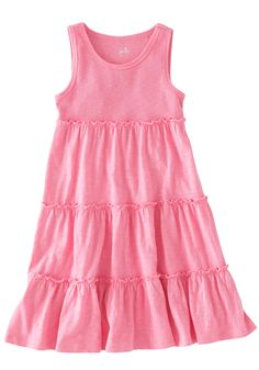{Easy Summer Tiered Dress}