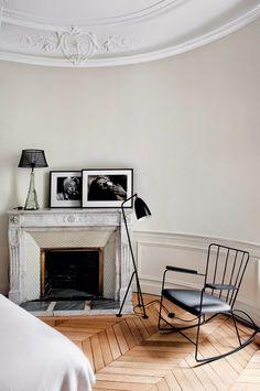 - DECORACION - Una casa en París. Dormitorio ~ Bedroom