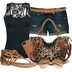 Leopard and Lace :)