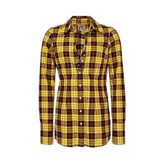 BKE Studded Placket Plaid Shirt ($8.50) ❤ liked on Polyvore featuring tops, shirts, blouses, tartan top, studded shirt, button front tops, bke shirts and pocket shirt