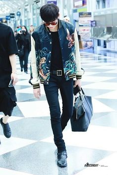 Bam bam airport fashion