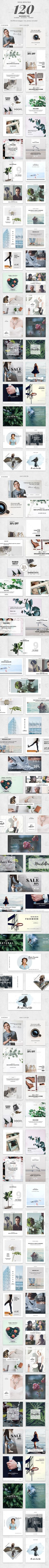 120 Social Media Banner — Photoshop PSD #Pinterest #sale • Download ➝ https://graphicriver.net/item/120-social-media-banner/19538791?ref=pxcr