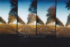 """Tourposter of """"Our Hearts Grow Cold"""" Autumn Tour in 2014"""