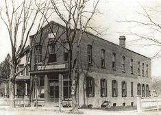 The old building of the Long Islander magazine, located in Huntington. Image Credit: Huntington Historical Society