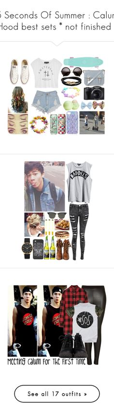 """""""5 Seconds Of Summer : Calum Hood best sets * not finished *"""" by ridiculousness444 ❤ liked on Polyvore featuring Converse, Topshop, Mulberry, Eos, Ksubi, Wild Diva, Marc by Marc Jacobs, Forever 21, Ray-Ban and Maje"""