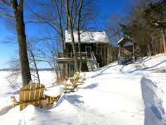 Copake cottage rental - The Guest House in Winter