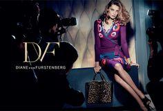 Diane von Furstenburg Fall 2015 Ad Campaign