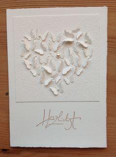 Herzstanze Memory Box , Geburtstag, Hochzeit, Stempel Alexandra Renke