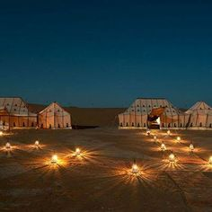 Spend a night under the stars at #Morocco's Erg Chigaga #luxury camp.
