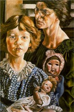 Stanley Spencer Hilda, Unity and Dolls