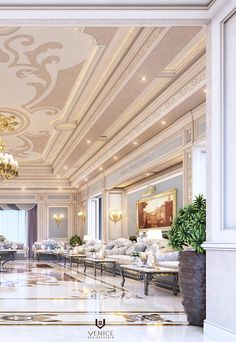Luxury Majlis on Behance Luxury Rooms, Luxury Interior, Home Interior Design, Interior Design Companies, Furniture Design, Behance, House Design, Chair, Architecture