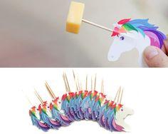 Party Picks Unicorn Designed By Rachel Elle                                                                                                                                                                                 Mais