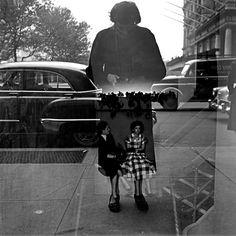 Vivian Maier Self-Portrait Rocking while mastering. - Vivian Maier Self-Portrait Rocking while mastering.