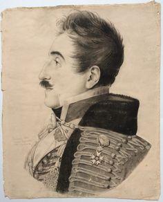 Physionotrace - Grand Trait Anonyme - par Bouchardy peintre successeur de Chrétien - palais Royal n°82
