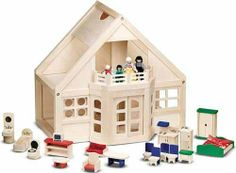 Melissa & Doug Deluxe Wooden Furnished Dollhouse by Melissa & Doug, http://www.amazon.com/dp/B00006AG7D/ref=cm_sw_r_pi_dp_XMfBrb189HRH5
