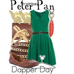"""Peter Pan"" by leslieakay on Polyvore"
