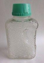 Vintage Anchor Hocking Soreno Refrigerator Water Beverage Bottle Aqua Bl... - $18.49