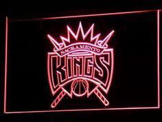 Sacramento Kings LED Neon Sign - Legacy Edition