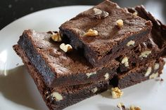 Walnut chocolate brownies recipe