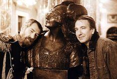 Ian McKellen and Alan Rickman