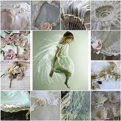 Oud en nieuw , wat een pracht ! All images are from my Flickr friends . | Flickr - Photo Sharing! Vintage Settee, Child Teaching, Color Studies, Palette, Muted Colors, Textile Art, Mood Boards, Collages, Paint Colors