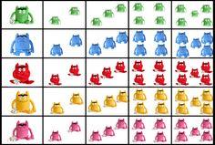 Gecijferdheid: Thema Het kleurenmonster - grafieken Colour, Feelings, School, Colors, Ideas, Activities For Kids, Preschool Writing, Social Skills, Short Stories