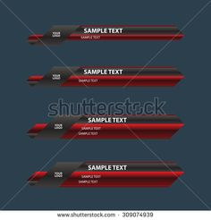 lower third banner bar screen broadcast Banner Design, Layout Design, Ui Buttons, Lower Thirds, Sports Team Logos, Video Effects, Game Icon, Game Ui, Layout Template