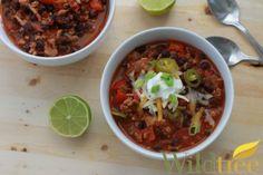 Wildtree's Turkey & Black Bean Taco Chili recipe www.MyWildtree.com/GloyeskeL
