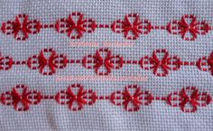 Risultati immagini per bordados diversos passo a passo Swedish Embroidery, Hardanger Embroidery, Types Of Embroidery, Learn Embroidery, Cross Stitch Embroidery, Embroidery Patterns, Hand Embroidery, Cross Stitch Borders, Cross Stitch Designs