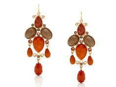 Jelly Bean Chandelier Earrings by Roberta Chiarella | Open Sky