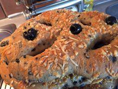 Fougasse Bagel, Bread, Homemade, Food, Essen, Home Made, Hand Made, Buns, Yemek