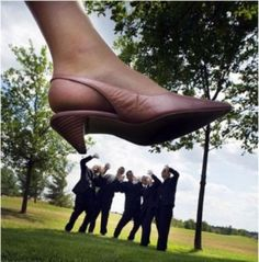 funny AND a great way to have a cute picture of your shoe :)