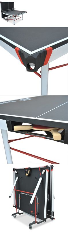 Sets 158955: Table Tennis Table Ping Pong Official Size Foldable 2 Piece  Professional Game