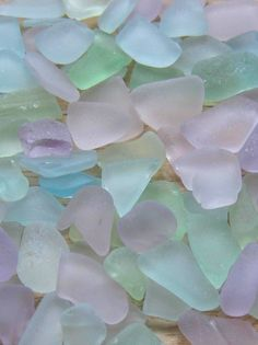Beautiful sea glass