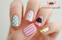 pretty girly nails