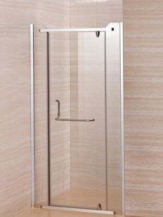 Handle For Glass Shower Door That Doubles As A Towel Bar