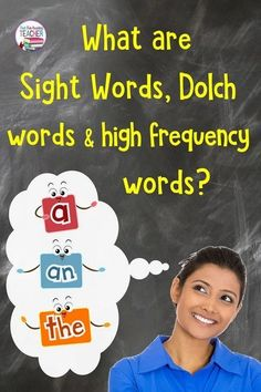 What are sight words, high-frequency words and Dolch words? Reading Intervention Strategies, Reading Skills, Reading Resources, Kindergarten Lesson Plans, Kindergarten Literacy, Help Teaching, Teaching Reading, Teaching Ideas, Bilingual Education