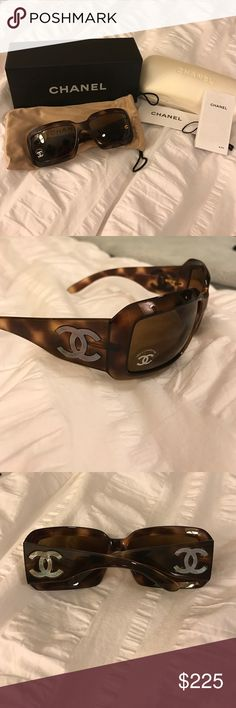 New in box! Chanel Mother of Pearl sunglasses Chanel 5076-H Mother of Pearl sunglasses in tortoise. New in box- includes original tags, sunglasses bag with draw string closure, case, papers and original box. CHANEL Other