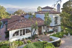 The longtime Beverly HIlls home of early Hollywood actor John Barrymore. Known as Bella Vista, the estate had been owned since the 1990s by 'Top Gun' director Tony Scott.