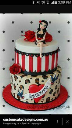 Rockabilly Wedding Cake Birthday Cake Ideas Rockabilly Wedding - Rockabilly birthday cake