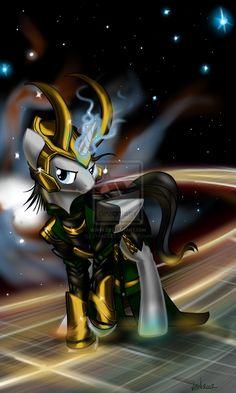 Loki, Pony of Mischief by *XNedra22 on deviantART