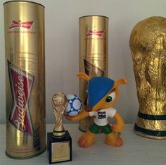my collection #worldcup #brasil2014 @budweiser_br United Edition