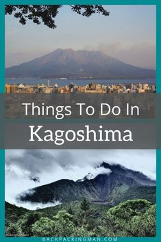 These are the best things to do in Kagoshima, Japan. #Japan Kumamoto, Kyushu, Japan Japan, Japan Post, Yakushima, Stuff To Do, Things To Do, Japan Travel Guide, Go Hiking