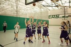 Photo from Glenbard West vs Downers Grove North West High School, Downers Grove, Freshman, Basketball Court, Girls, Little Girls, Daughters, Maids