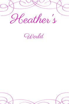 my blog logo http://my-world-heather.blogspot.co.uk/2015/01/my-pinterest.html