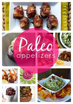 Paleo Appetizers - sugarfreeglow.com